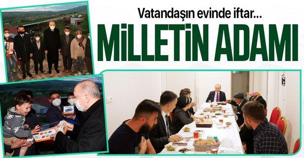 Başkan Erdoğan iftara konuk oldu