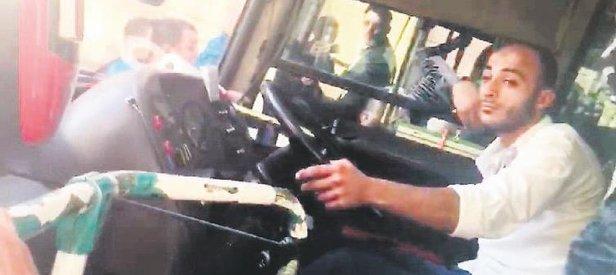 Şoför sızdı yolcular kızdı