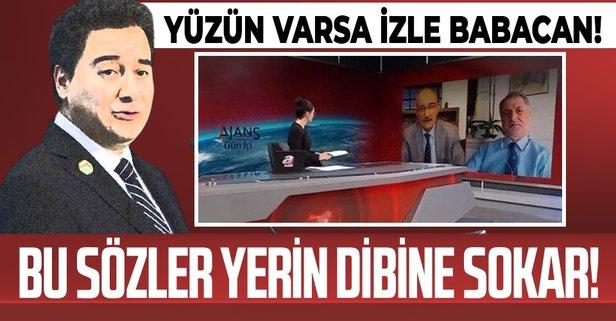 Ali Babacan'a ihanet tepkisi: Bu kumpastır