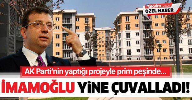 CHP'li İmamoğlu yine prim yapma peşinde!