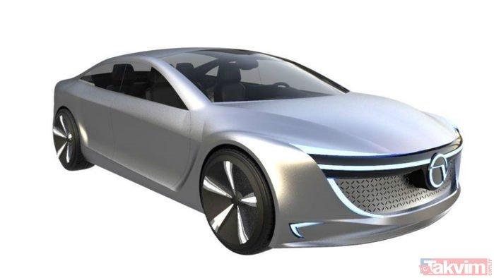 Yerli otomobilin görüntüsü ortaya çıktı! Yerli otomobil nasıl görünecek?