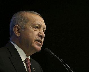 Başkan Erdoğan'dan başsağlığı mesajı