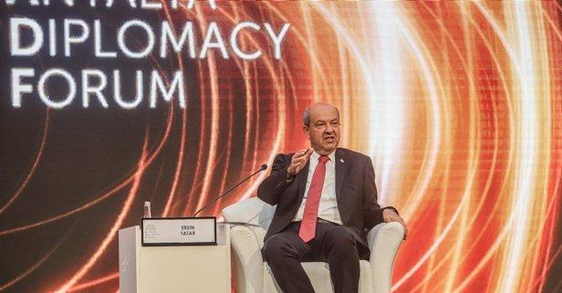 KKTC Cumhurbaşkanı Tatar kesin konuştu