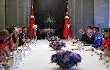 Başkan Erdoğan Ampute Milli Takımını kabul etti