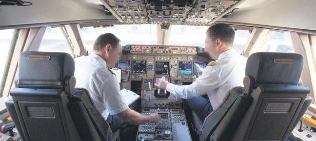 Pilotların maaş kavgası