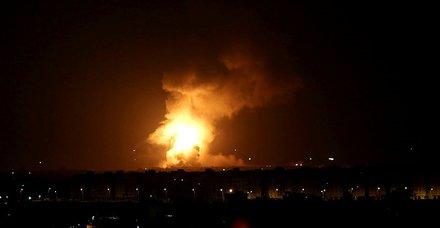 Son dakika: İsrail'den Gazze'ye hava saldırısı