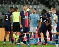 PSG - City maçında insanlık dışı faul!
