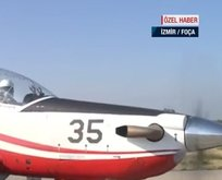 İzmir'de düşen KT-1 tipi uçak