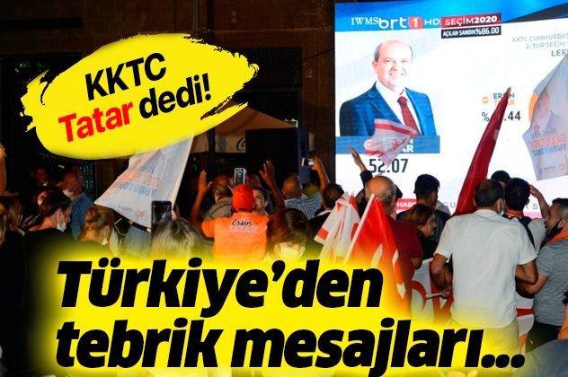 Türkiye'den Tatar'a tebrik!
