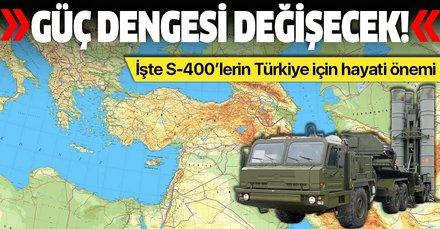 Türkiye'nin satın aldığı S-400'ler bölgedeki güç dengesini değiştirecek