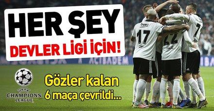 Beşiktaş ligi 2'nci bitirirse Şampiyonlar Ligi için büyük şans elde edecek