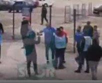 Başakşehirli futbolcular A Spor muhabirine saldırdı