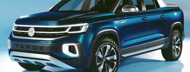 Volkswagen yeni pick-up'ı Tarok'u tanıttı