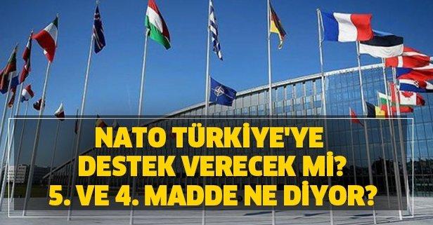 NATO 4. ve 5. madde nedir?