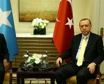 Erdoğan Somali Başbakanı'nı kabul etti