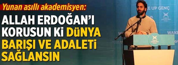 Hamza Tzortzis: Erdoğan fevkalede bir iş çıkarıyor
