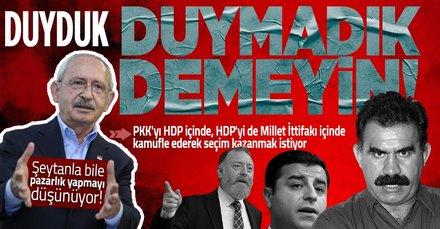 Millet İttifakı PKK'yı kamufle ederek seçim kazanmak istiyor!