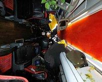 Yolcu otobüsü 150 metreden dereye uçtu! Can pazarı...