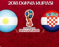 Dünya Kupasında nefes kesecek maç: Arjantin - Hırvatistan