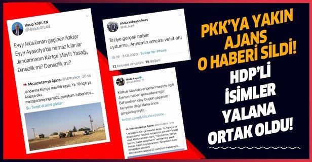 Son dakika: HDP'li isimlerin provokasyonu çöktü!