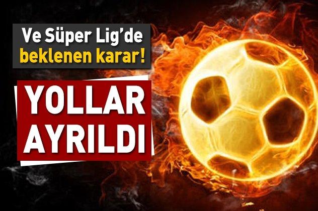 Süper Ligde beklenen karar!