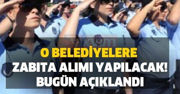 Bugün açıklandı! Ankara ve İstanbul belediyelerine memur alımı yapacak!