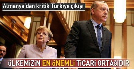 Almanyadan kritik Türkiye çıkışı!