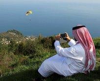 Araplar oradan vazgeçemiyor! Akın akın gidiyorlar
