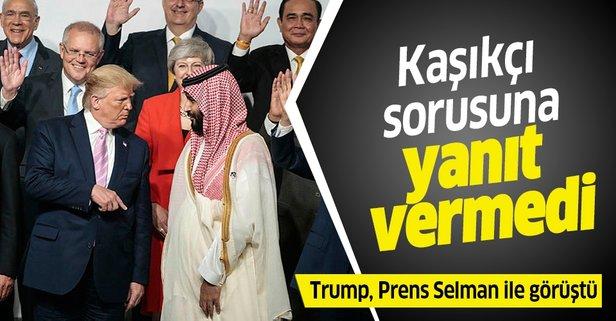 Trump, Prens Selman ile görüştü
