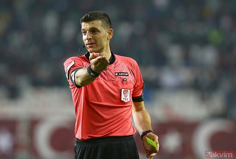 Galatasaray - Trabzonspor maçının hakemi Ümit Öztürk 'o' pozisyonu anlattı!