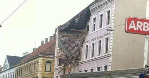 Viyana'da patlama: Yaralılar var