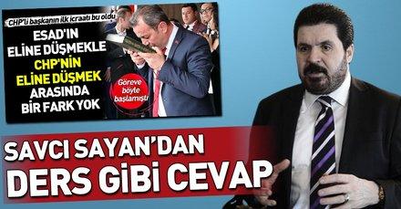 Savcı Sayan'dan Bolu Belediye Başkanı CHP'li Tanju Özcan'ın tepki çeken icraatine cevap!