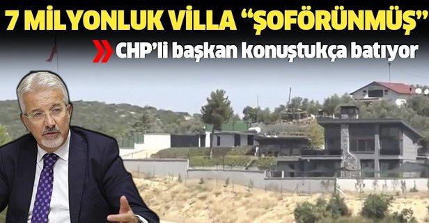 '7 milyonluk villa şoförün'