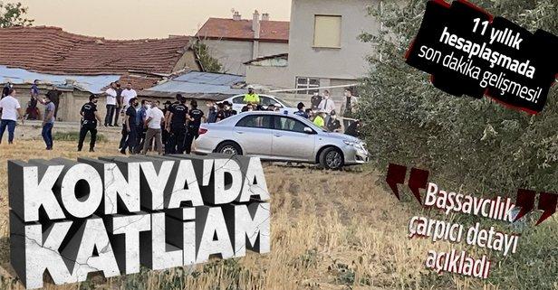 Konya'da katliam!