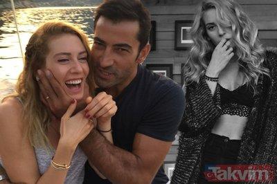 Kenan İmirzalıoğlu'nun eşi Sinem Kobal tatil pozuyla ortalığı yıktı geçti! Doğum kiloları uçup giden Sinem Kobal'a bakın!