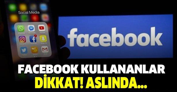 Facebook'ta bunu yapıyorsanız dikkat! Aslında herkes yanlış biliyor