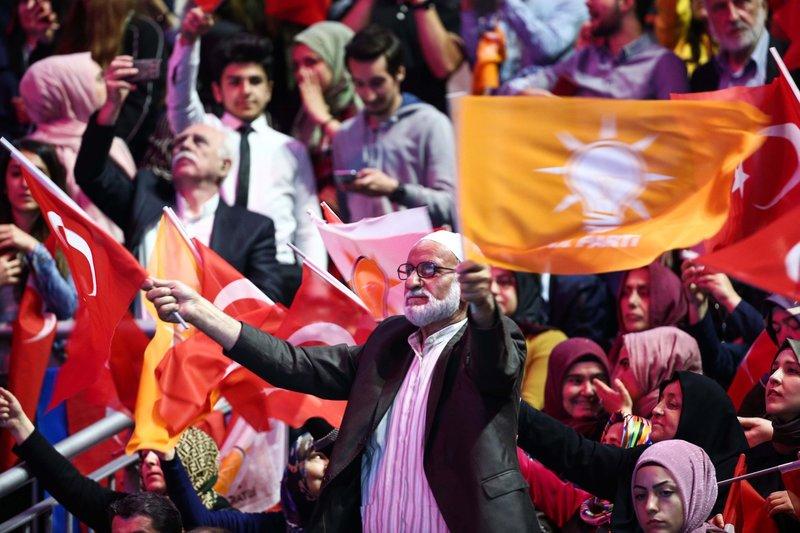 AK Parti 6. Olağan Kongresi'nden kareler