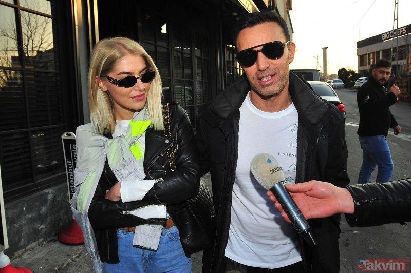 Emina Jahovic Mustafa Sandal'ın yeni sevgilisi Melis Sütşurup'u yakından takip ediyor!