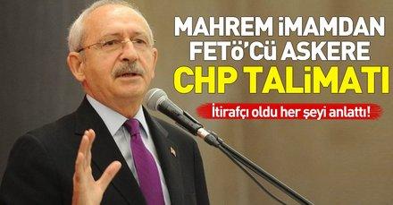 Mahrem imamdan FETÖ'cü askere CHP talimatı: Oyları CHPye verin
