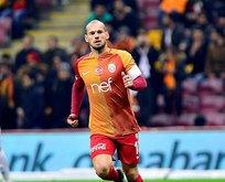 Sneijder G.Saray'a mı dönüyor? Menajeri açıkladı