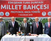 Eskişehir Stadı Millet Bahçesi oluyor