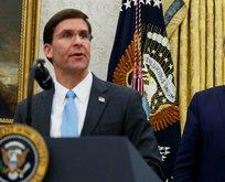 Trump: Mark Esper'in görevine son verdim