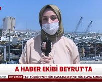 A Haber Beyrut'ta: Sağlam ev ve araç yok!