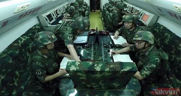 Çin'in gizli komuta merkezi ilk kez görüntülendi! İşte sır gibi saklanan Çin komuta merkezi
