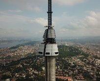 Çamlıca Televizyon Kulesi'nde son aşamaya gelindi! Bittiğinde böyle olacak...