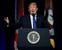Trump'tan füze tehdidi: Hepsini indireceğiz!