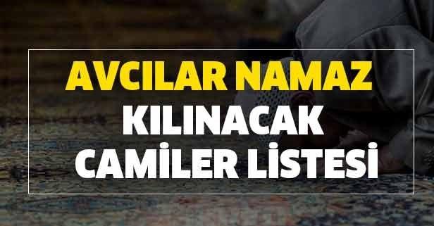 İstanbul Avcılar Cuma namazı kılınacak camiler hangisi?
