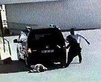 Önce dövdü sonra aracıyla üstünden geçti!