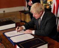 Boris, ticaret anlaşmasını imzaladı