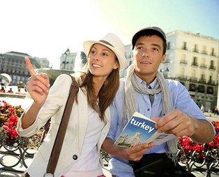 Turistler iki kat harcadı